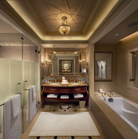 Bathrooms at Leela Palace