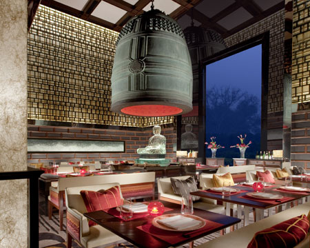 Fine Dining. Japanese cuisine at Megu, Leela Palace