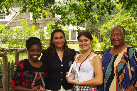 Meera with the Award winners from the Eleanor Roosevelt Leadership Program