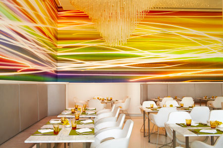 Contemporary cool. Origins Restaurant
