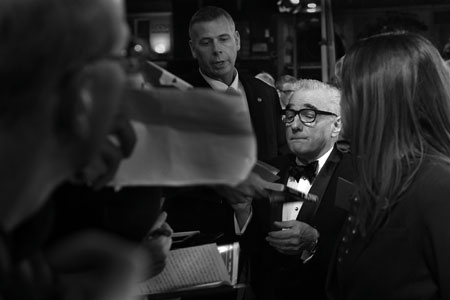 Martin Scorcese at the premiere of Hugo, Leicester Square, London 2011