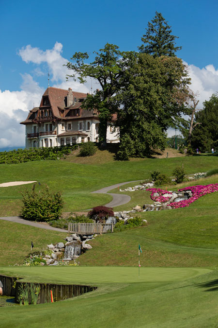 Championship Golf course at Evian Resort
