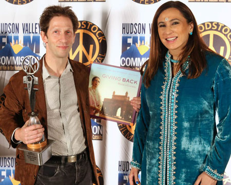 Meera Gandhi acknowledges the work Tim Blake Nelson
