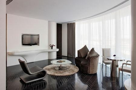 Yas Grand Suite living area