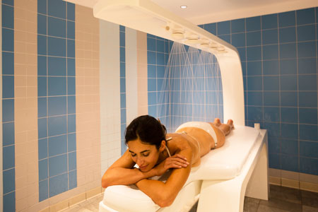 Pure Evian massage at Les Thermes