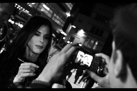 Up close and personal with Sandra Bullock