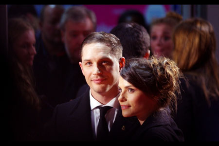 Silver screen glamour, Tom Hardy and Charlotte Riley