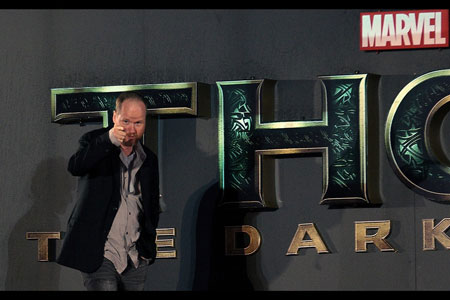 Avengers Director, Josh Whedon takes a bow