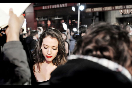 Porcelain beauty. Kat Dennings