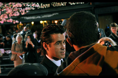 Colin Farrell fixes his movie glare