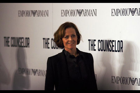 Icon. Sigourney Weaver