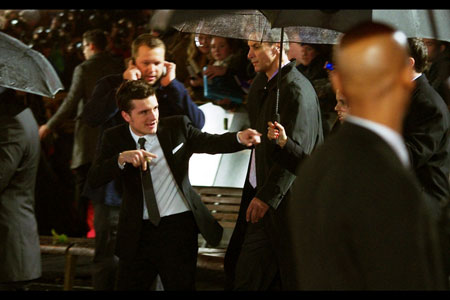 Enter the film's 'fall' guy. Josh Hutcherson