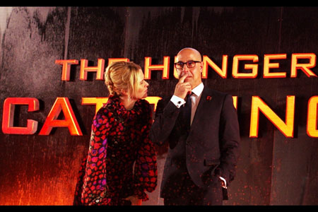 Film favourite, the irrepressible Stanley Tucci