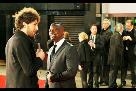 Alex Zane interviews Tony Kgoroge