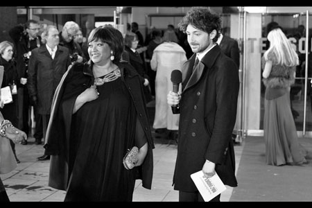 Zinzi Mandela and Alex Zane