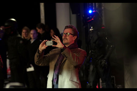 Gary Oldman turns pap