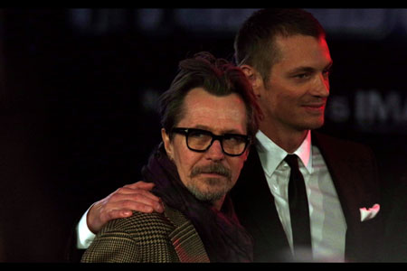 Robocop actor Joel Kinnaman and British icon, Gary Oldman