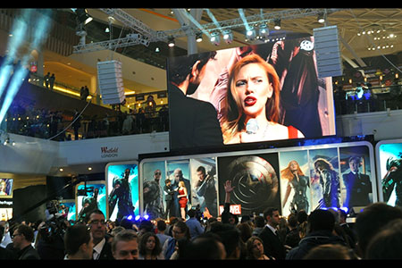On stage and big screen, Scarlett  Johansson