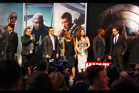 Captain America, The Winter Soldier, full cast
