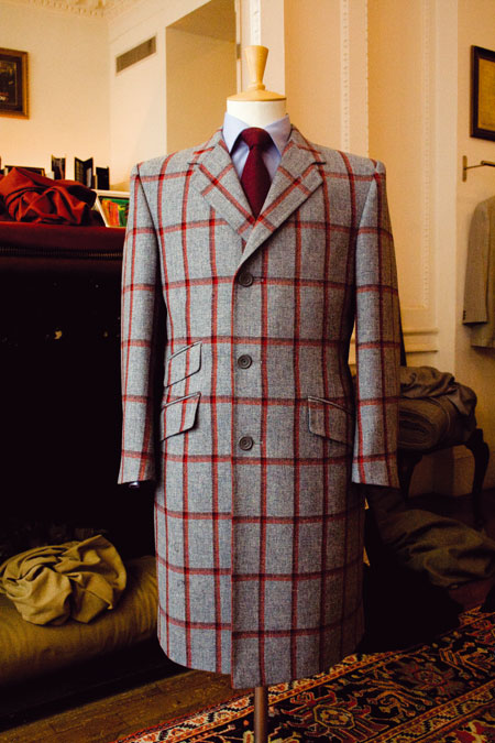 Savile Row Tweed Coat