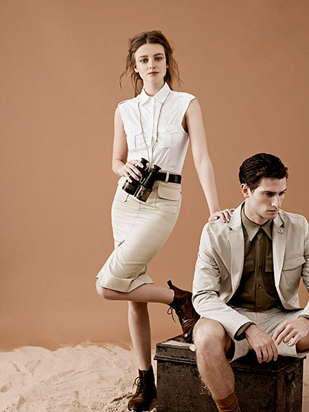 Elegant, understated safari pieces