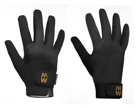 MacWet sports gloves, come in a range of sizes