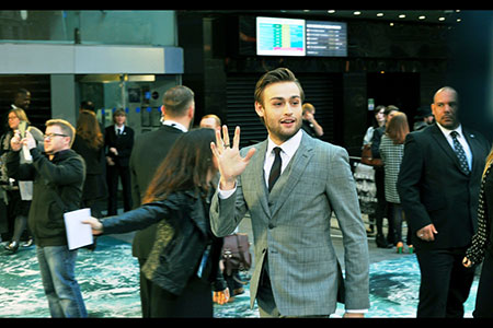 Dashing young Douglas Booth
