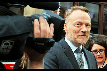 Up Close;  Jared Harris