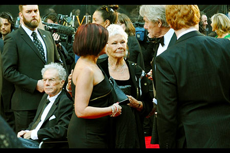 In conversation, Dame Judi Dench