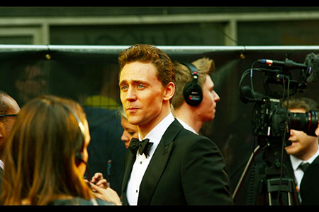 Tom Hiddleston having a moment