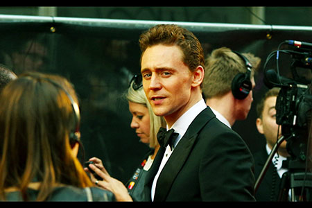 Our buddy Tom Hiddleston acknowledges us