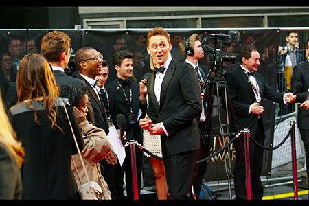 The incredibly popular, Tom Hiddleston