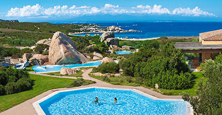 Resort Valle dell'Erica, panorama. Sardinia