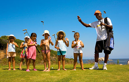 Resort Valle dell'Erica, golf lessons. Sardinia