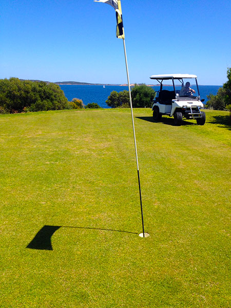 Hotel Capo d'Orso, Pitch and Putt. Sardinia