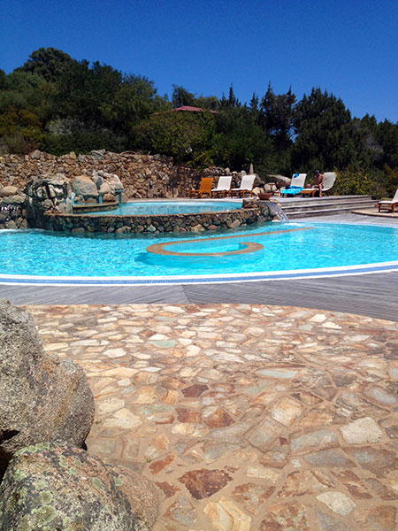 Poolside layout, Resort Valle dell'Erica