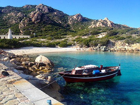 Isolated and beautiful, Spargi island. La Maddalena Archipelago