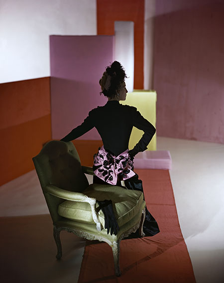 11._Dinner_suit_and_headdress_by_Schiaparelli_1947__Conde_Nast_Horst_Estate