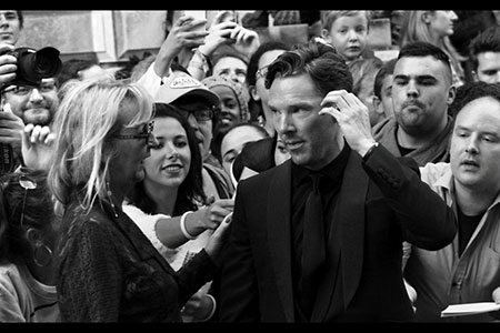 GQ Awards 2014 Royal Opera House up close, Benedict Cumberbatch
