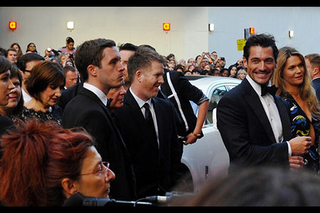 GQ Awards 2014 Royal Opera House David Gandy