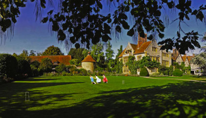 Stunning greenery at Belmond Le Manoir Aux Quat'Saisons