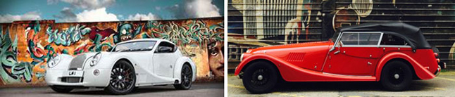 London Morgan Brompton design district Cars