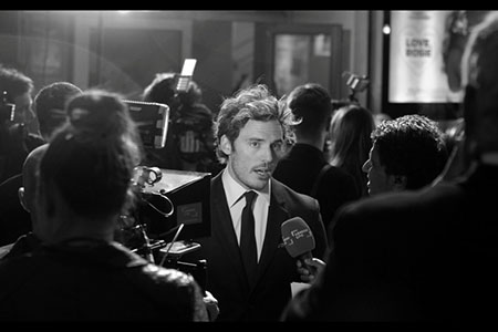 Sam Claflin in interview
