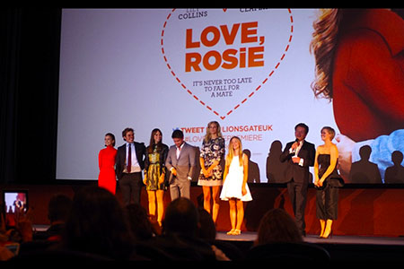 Love Rosie cast take to the stage