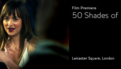50 Shades of Grey Film Premiere London