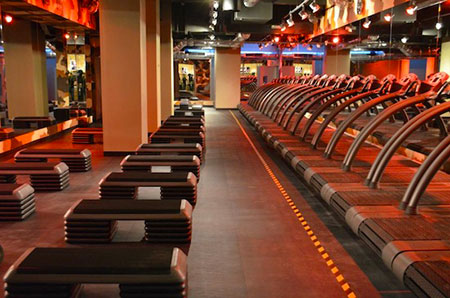 Barry's Bootcamp treadmills