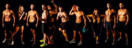 Barry's Bootcamp Euston team