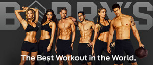 Barry's Bootcamp team