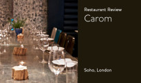 Carom restaurant review soho london