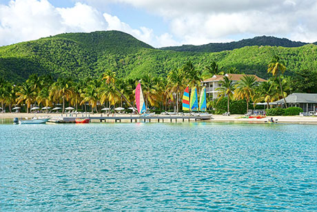 Carlisle Bay, Antigua watersports